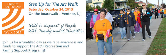Step Up for The Arc Walk ~ October 24, 2015